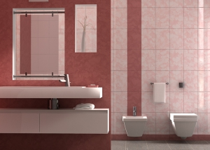 Bathroom interior visualisation
