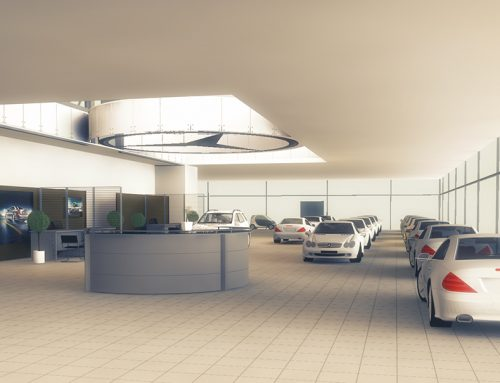 Mercedes Dealership 3D Visualization