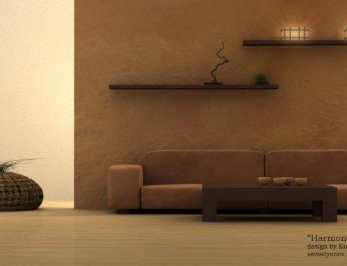 Interior Design Visualization, Harmony Project