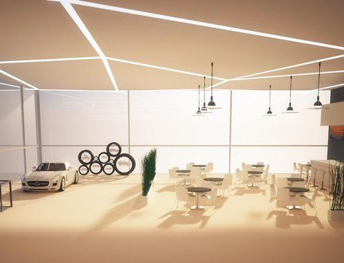 Dealership Interior Visualization