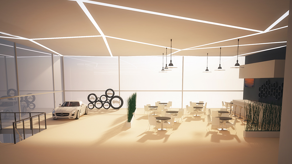 Dealership Cafe Interior