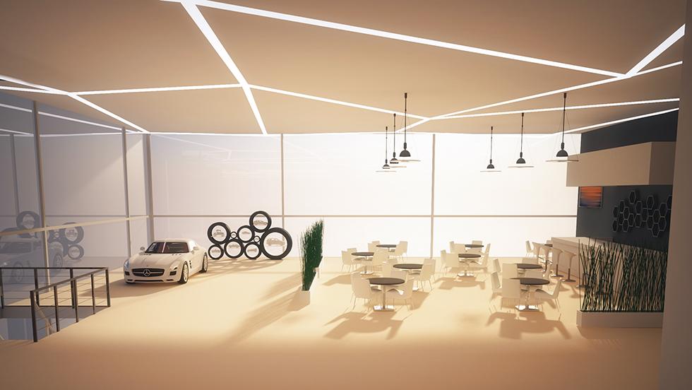 Dealership Cafe Interior