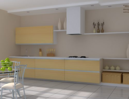 Kitchen Interior Visualization