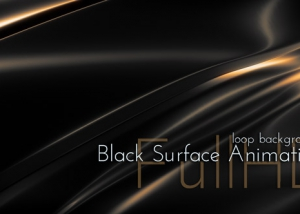 Black Glossy Surface