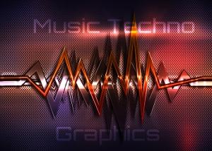 Music Techno Graphics