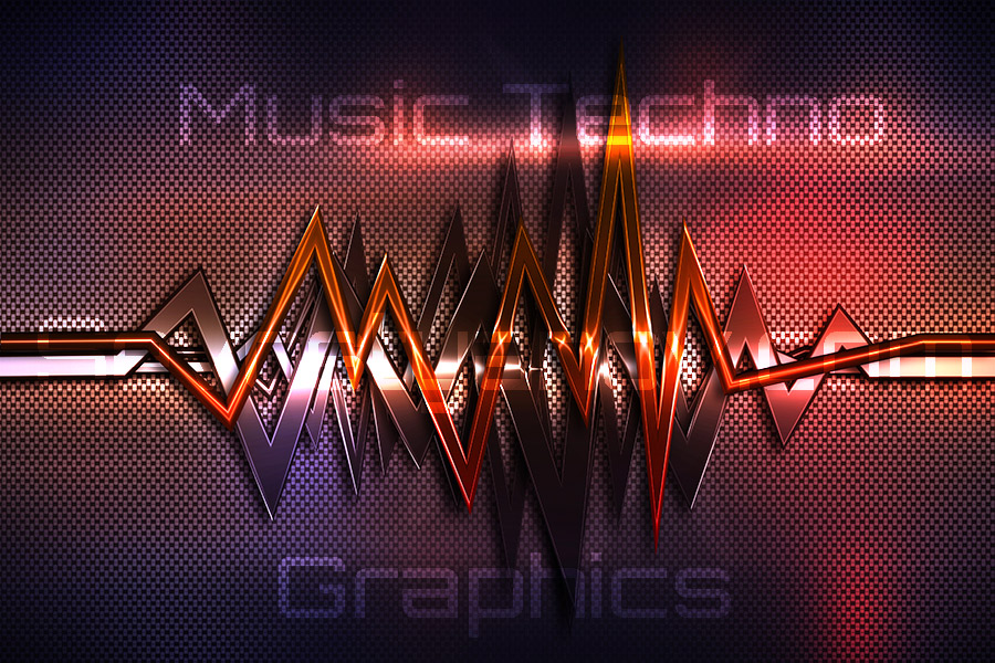 Music Techno Graphics