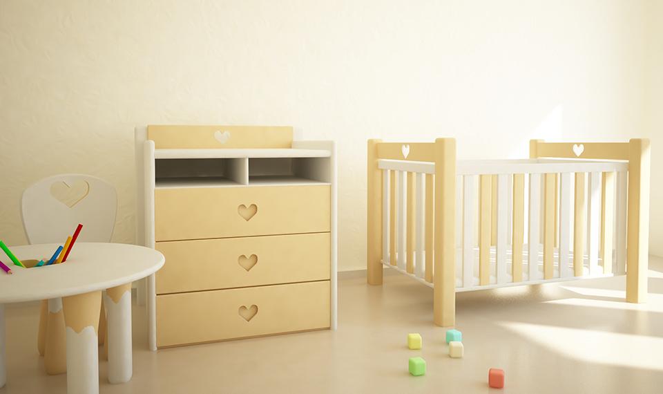 Children's Room 3D Interior
