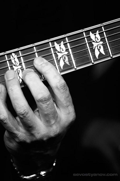 Jazz Poster Guitar Hand