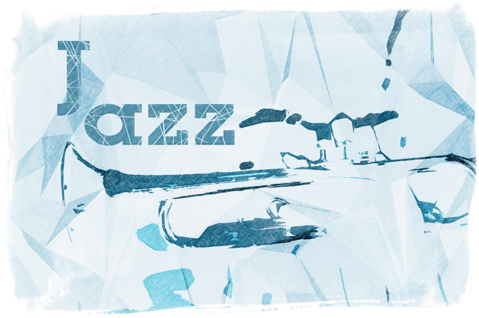 Jazz Trampet Illustration