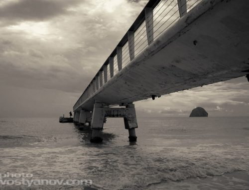Sea Pier Photo Art Print
