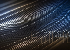 Abstract 3d Metal Background