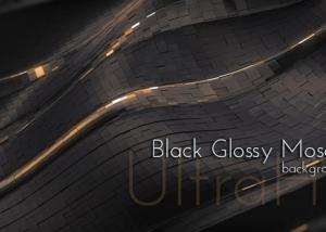 Black Glossy Mosaic Animation