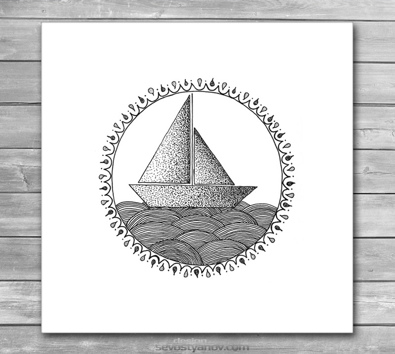 Sailing Boat Art Prints