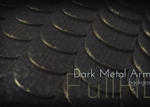 Motion Dark Metal Armor 3d Background