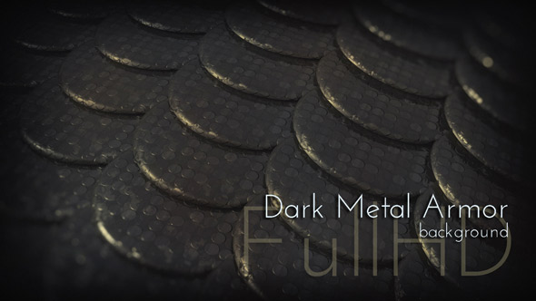 Motion Dark Metal Armor 3d Background