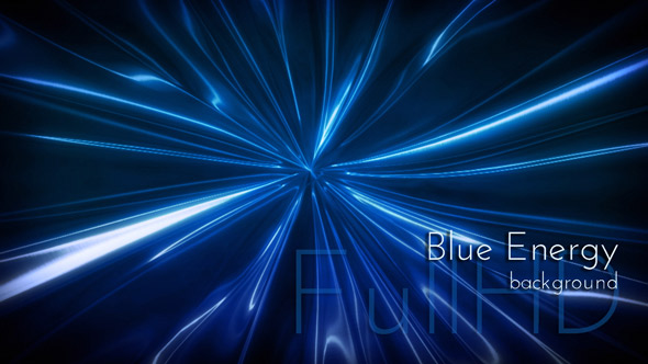 Blue Light Videoart Motion