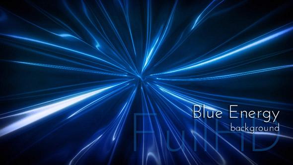 Blue Light Videoart Motion