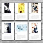 Wall Jazz Calendar 2016