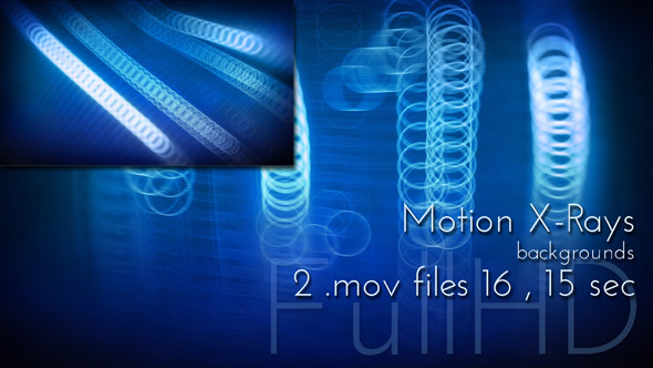 X-Rays Motion Background