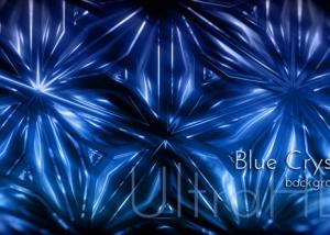 Cold Blue Crystal Christmas Animatoin