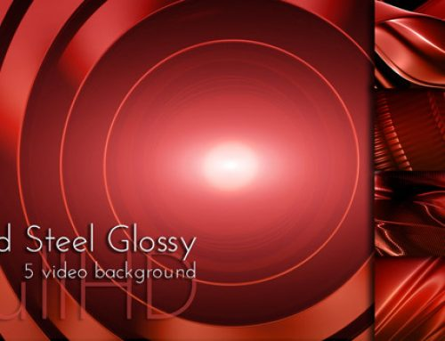 Motion Red Glossy Surface