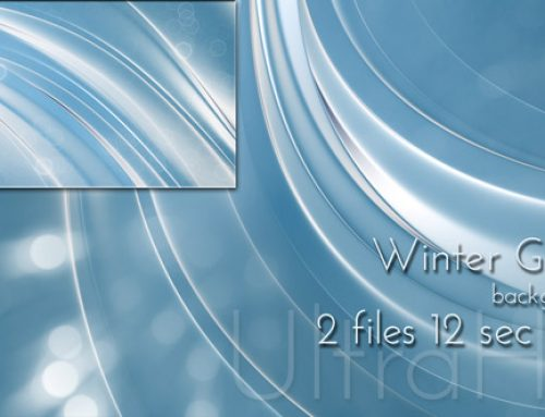Motion Winter Glossy UltraHD Background