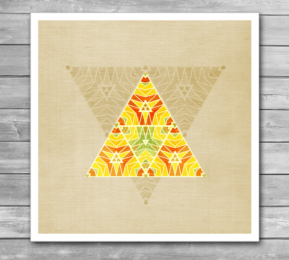 Summer Triangle Print