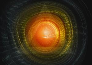 Futuristic Techno Background