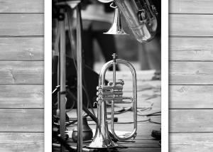 Jazz Trumpet Print