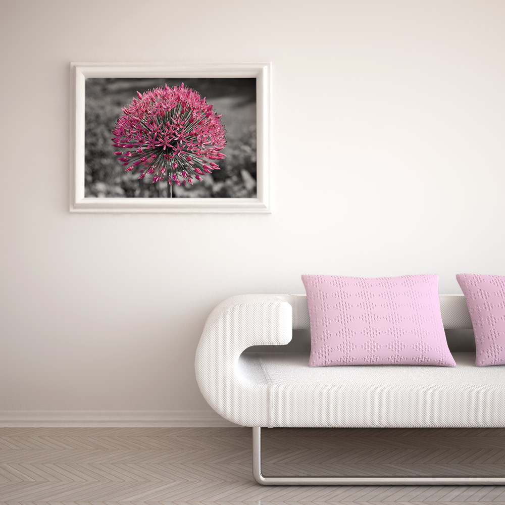 Pink Flower Photo Poster