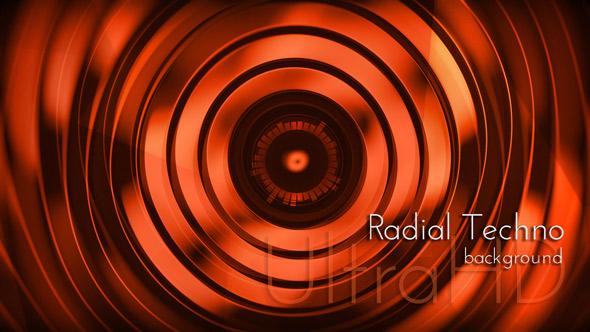 Techno UltraHD Background