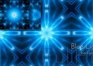 Dancing Blue Lights