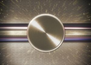Techno Metal Background