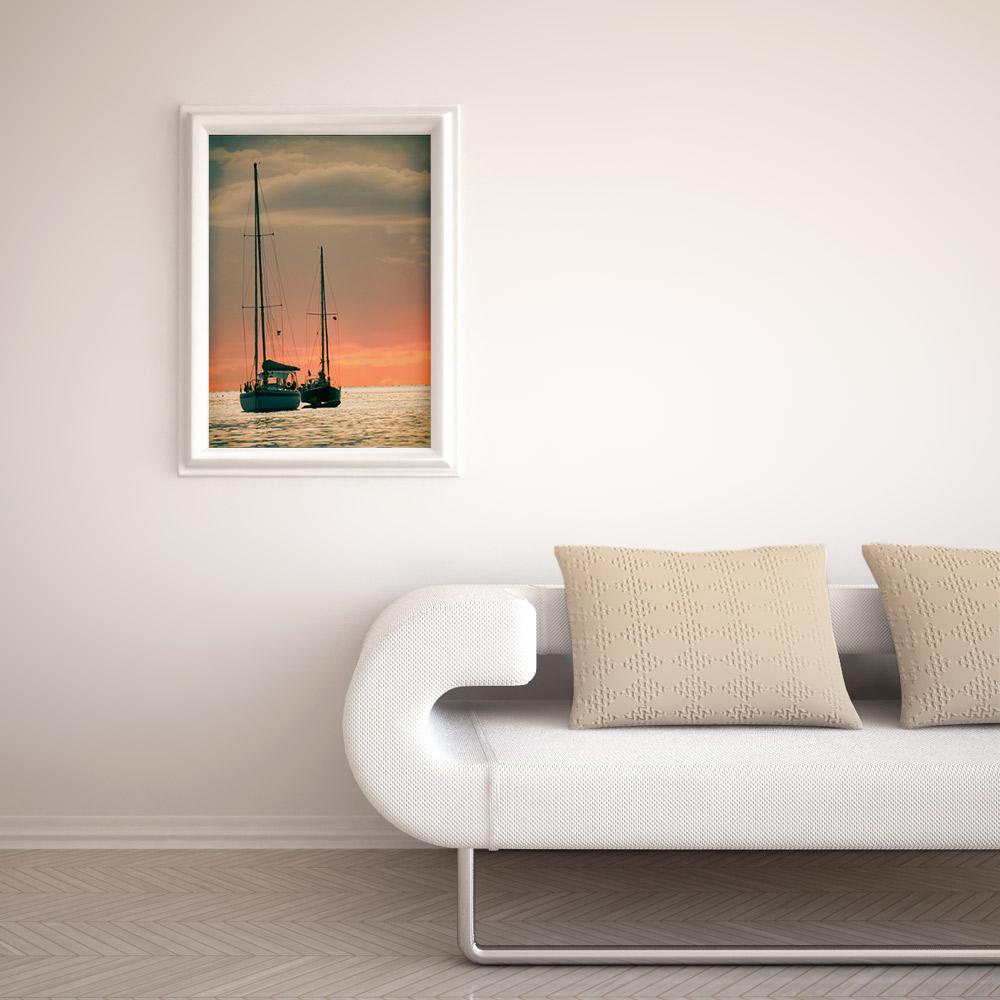 Sunset Yachts Print