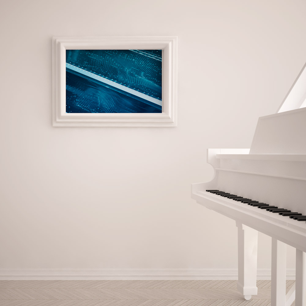 piano jazz poster