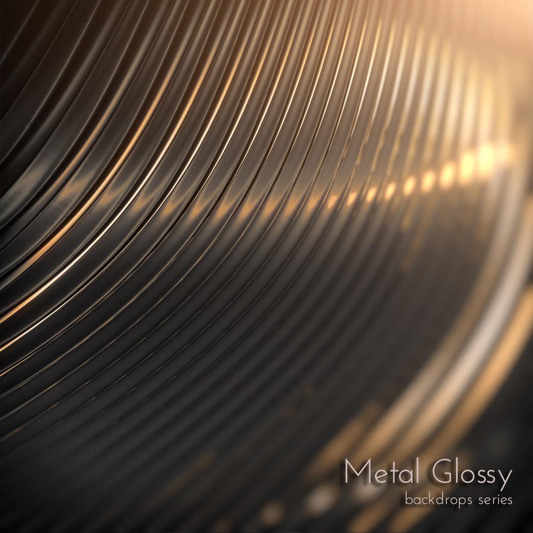 Dark Metal Glossy Wallpaper