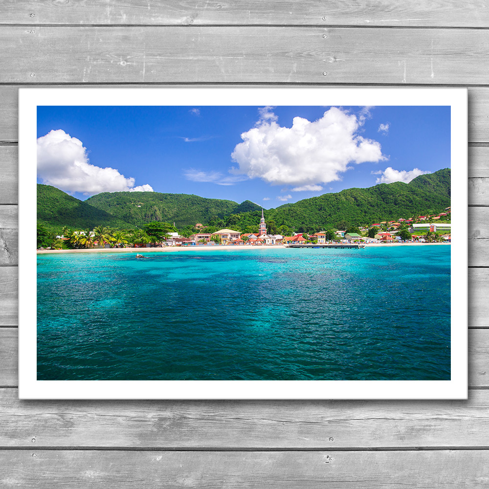 Tropical Coast Photo Print