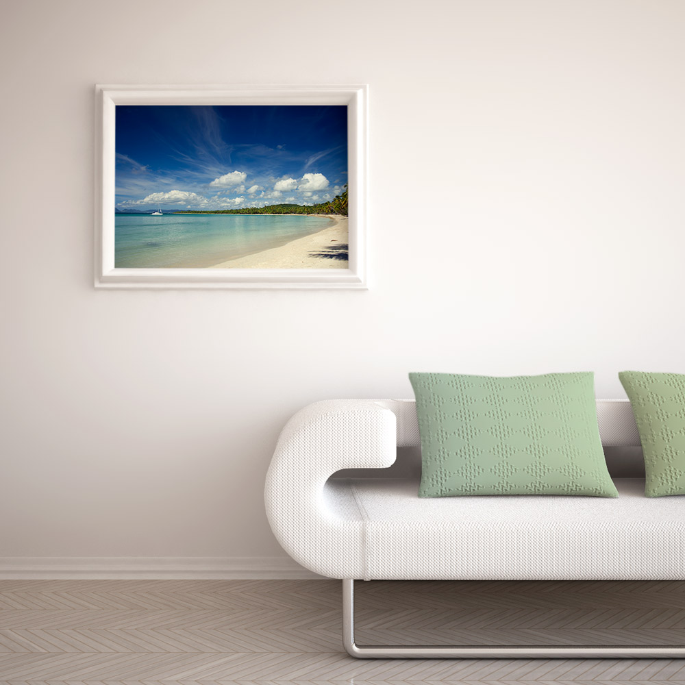 Tropical Coast Print