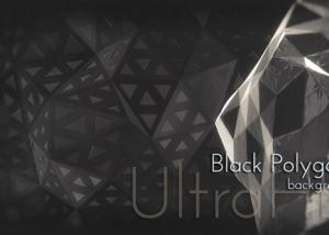 Motion Black Polygons