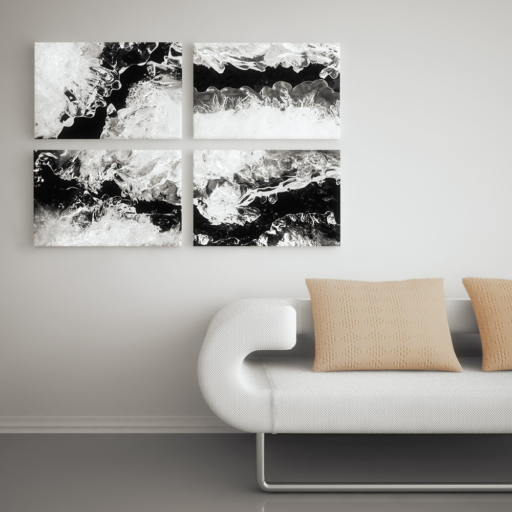 Frozen Illusion Photo Polyptych