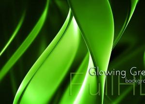 Fluorescent Green Background