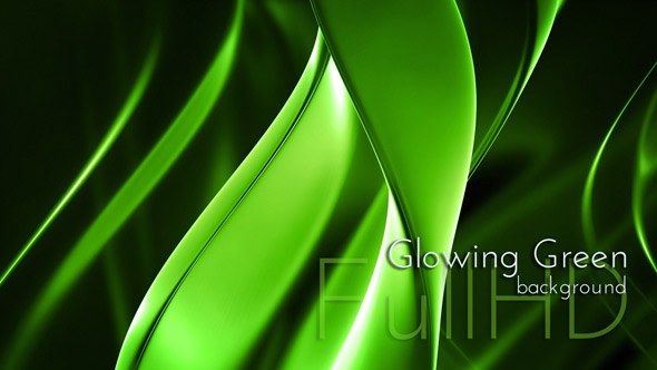 Fluorescent Green Background