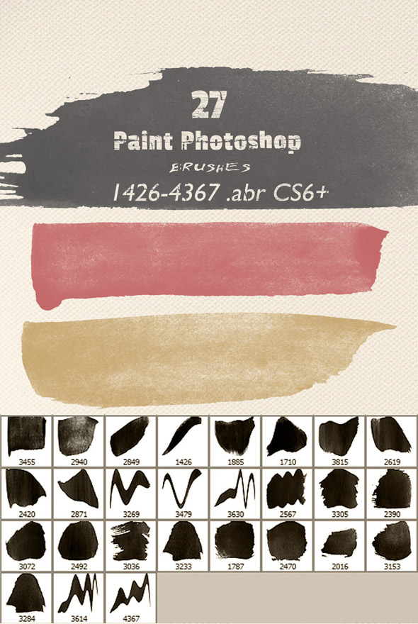 Art Paint Photoshop Brushes