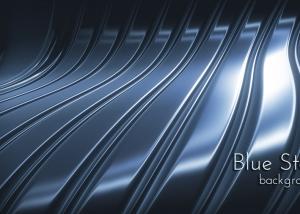 Dark Blue Steel Background