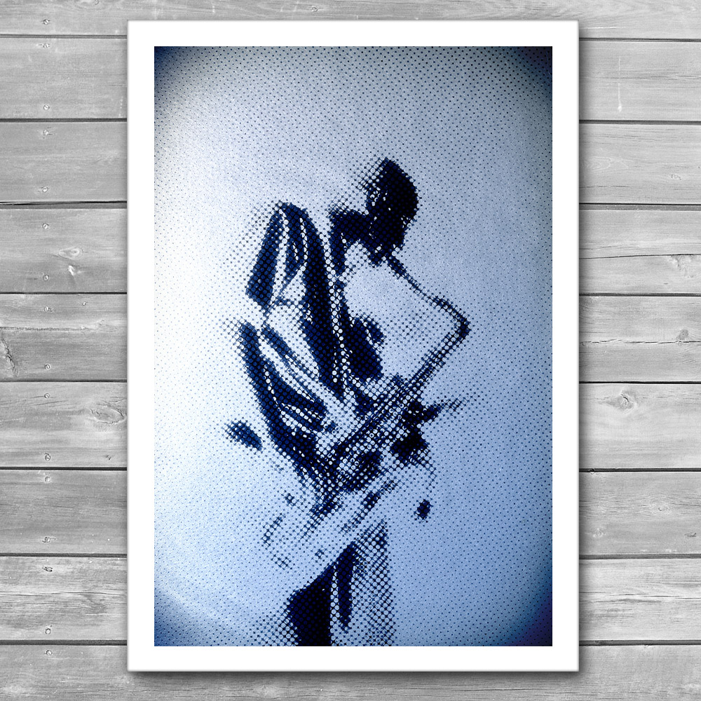 Sax Music Poster