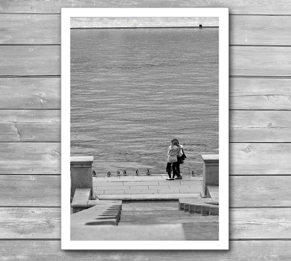 Romantic City Photo Print