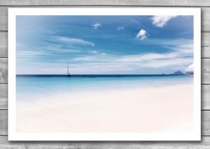 Sea and Sky Travel Print