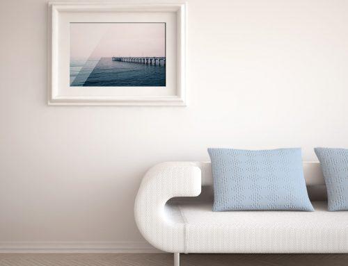 Sea Pier Photo Print