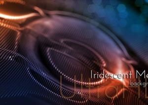 Iridescent Metal Surface