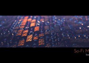 Sci-Fi Motion Background